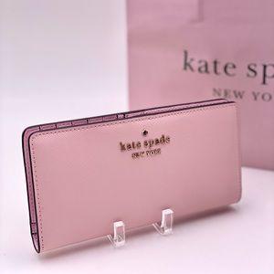 Kate Spade Large Stacy Slim Bifold Wallet